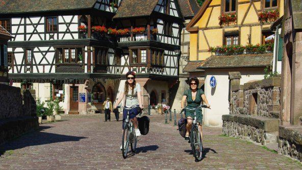 Radtour in Elsass